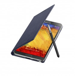 Galaxy Note 3 Flip Cover Open Pen Indigo Blue