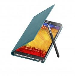 Galaxy Note 3 Flip Cover Open Pen Mint Blue