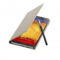 Galaxy Note 3 Flip Cover Open Pen Oatmeal Beige