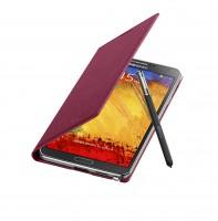 Galaxy Note 3 Flip Cover Open Pen Plum Magenta