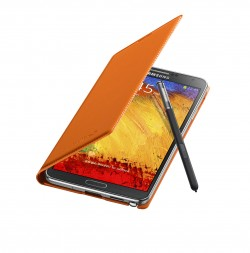 Galaxy Note 3 Flip Cover Open Pen Wild Orange