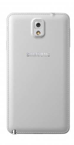 Galaxy Note 3 back Classic White