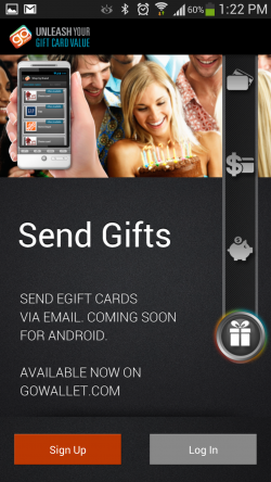 GoWallet Mobile - Send Gifts