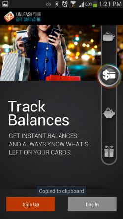 GoWallet Mobile - Track Balances