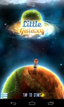 Little Galaxy - Intro screen