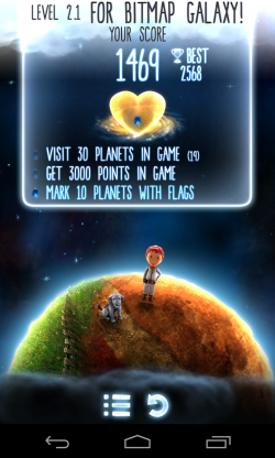 Little Galaxy - Score and objectives