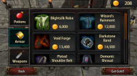 Mana Rush - Buy Armor