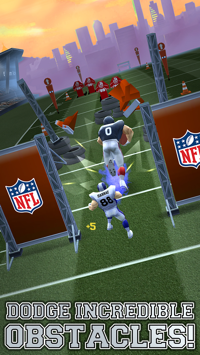 (New Game) NFL Runner: Football Dash – an endless runner game with free power-ups at McDonald's