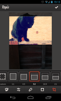 Repix - Cropping options