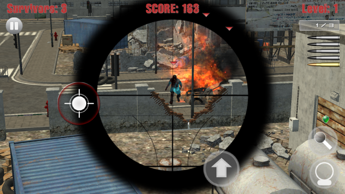 Sniper Shooter – Zombie Vision. Play first person shooter scoping hordes of undead