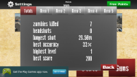 Sniper Shooter Zombie Vision - Stats