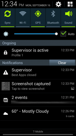 Supervisor - App Locked Out
