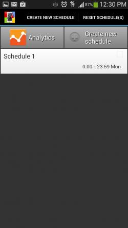 Supervisor - Schedule