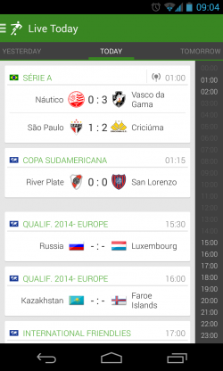 THE Football App - Live today