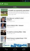 THE Football App - Videos