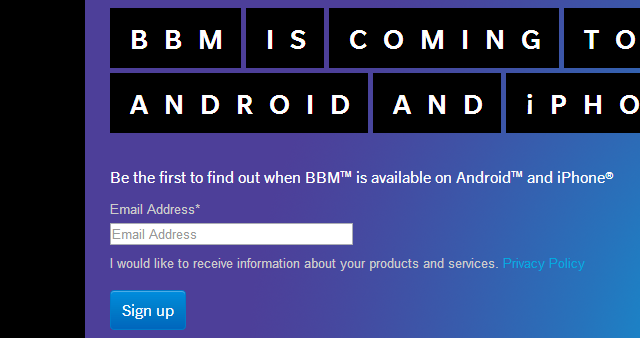 BBM is launching tomorrow on Android. Is it for you?