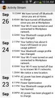 mobileMD - Activity Stream