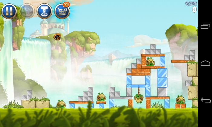 Angry Birds Space 2 - Gameplay sample (1)