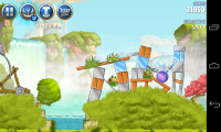 Angry Birds Space 2 - Gameplay sample (2)