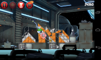 Angry Birds Space 2 - Gameplay sample (9)