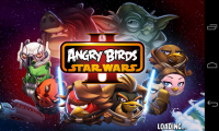 Angry Birds Space 2 - Launch page