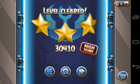Angry Birds Space 2 - Level clear