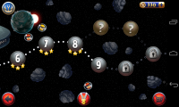 Angry Birds Space 2 - Level menu