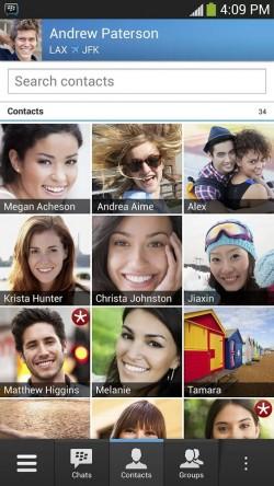 BBM Contacts