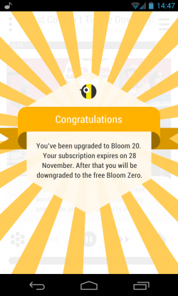 Bloom.fm - Free trial