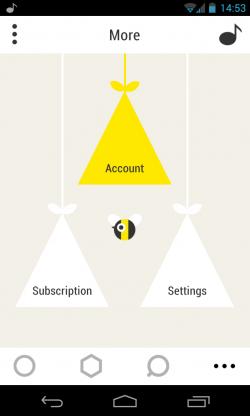 Bloom.fm - More options