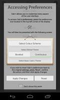 Calc+ - Access preferences