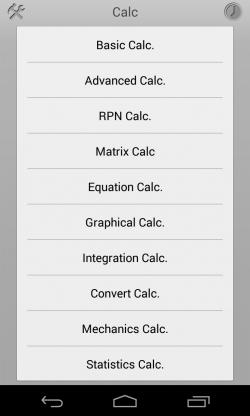 Calc+ - Calc types