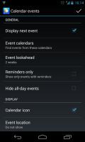 Chronus - Calendar events settings