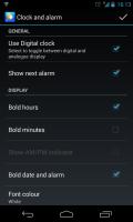 Chronus - Clock and alarm settings
