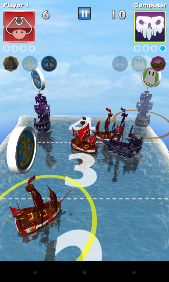Edge of the World – play this fun & uniquely themed 3D shuffle board game!