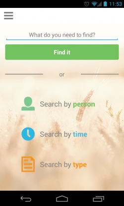 FindIt - Search page
