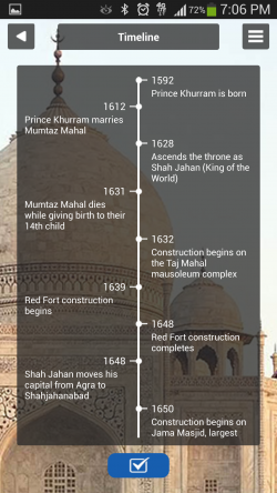 Guiddoo - Monument Timeline