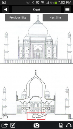 Guiddoo - Taj Mahal Floor Map 2