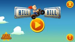 Hill Bill - Start Screen