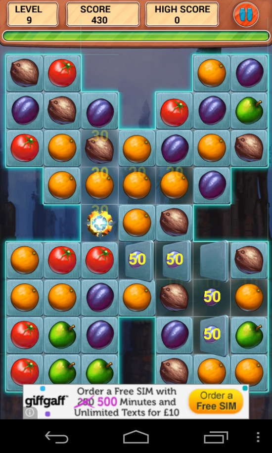 Jamaker – Fruit Story. Yet another Match 3 game but addictive as hell