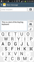 KeyZag Keyboard Free - Light Theme