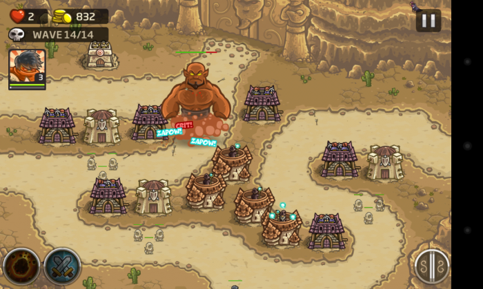 Kingdom Rush Frontiers – play the sequel to massively addictive Kingdom Rush game!