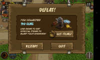 Kingdom Rush Frontiers - Defeat