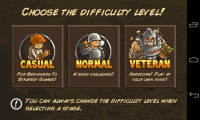 Kingdom Rush Frontiers - Difficulty level