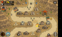 Kingdom Rush Frontiers - Gameplay sample (2)
