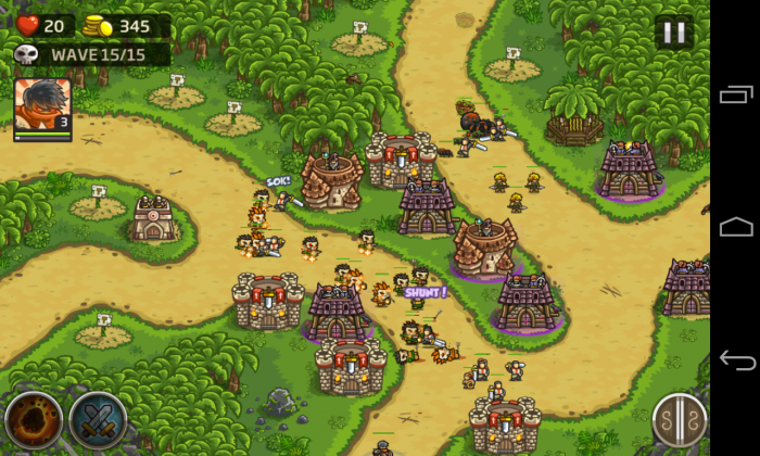 Kingdom Rush Frontiers - Gameplay sample (7)