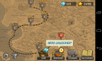 Kingdom Rush Frontiers - Map