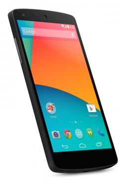 Nexus 5 - Angle View