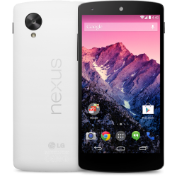 Nexus 5 - White Front and Back