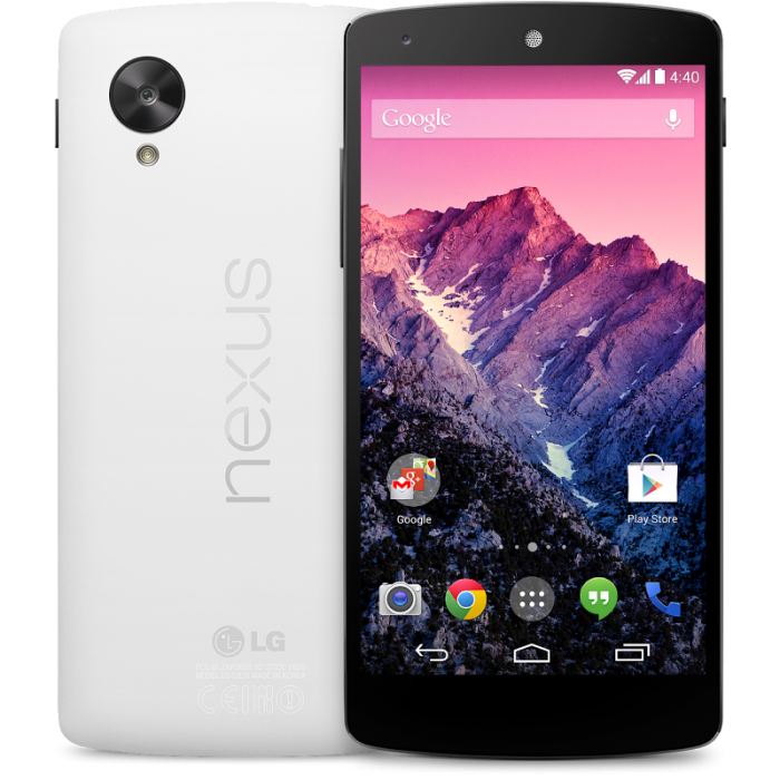 Nexus 5 – Google's New Flagship Android Phone
